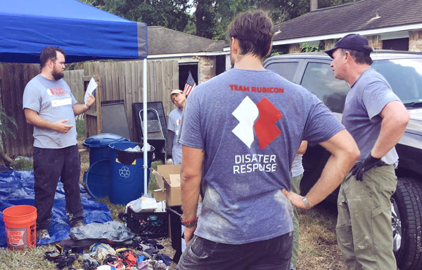 GXP employees work beside Team Rubicon